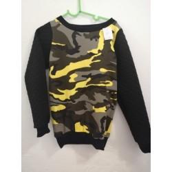 Shirt Camouflage gelb